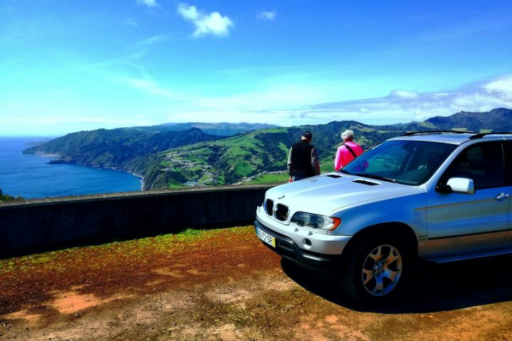 Private Tour in the Azores BMW X5