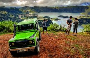Jeep tour to Sete Cidades Passeio de jipe Sete Cidades